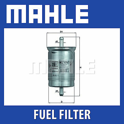 Fits Ford Mondeo Diesel Mahle Fuel Filter KL446 For TDCI