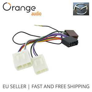 Wiring-Harness-Adapter-for-Mazda-ISO-till-2001-connector-stereo-plug-adaptor