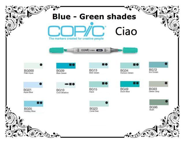 NEU COPIC ciao Allround-Marker Duck Blue