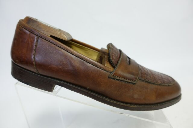 Vintage Mens Cole Haan Brown Penny Loafers Made In USA Sz ...