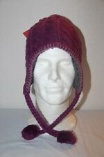 THE NORTH FACE  Bonnet Femme Péruvien Fuzzy Violet  Taille Unique neuf