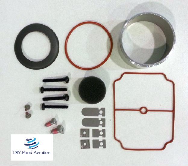 NEW THOMAS Piston Compressor//Vacuum Rebuild Service Kit SK660-680//660 Series