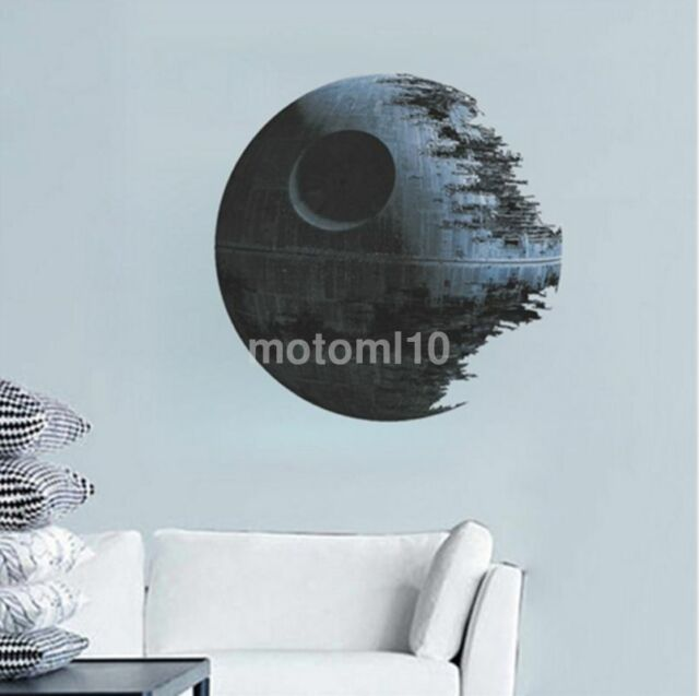 Movies Star Wars Death Star Vinyl Art Wall Stickers Decals Home Decor Removable For Sale Online Ebay