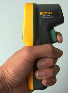 True-NEW-Fluke-MT4-MAX-Mini-Laser-Infrared-Thermometer-22-662F-USA-Seller