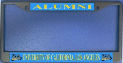 UCLA UNIVERSITY CALIFORNIA LOS ANGELES  ALUMNI CHROME USA  LICENSE PLATE FRAME