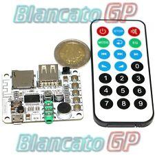 Lettore MP3 FLAC lossless Ricevitore bluetooth Radio FM microfono e telecomando