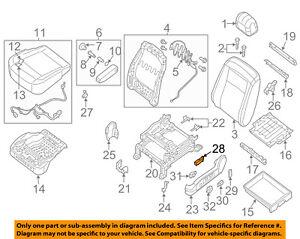 Outstanding Nissan Oem 12 18 Nv3500 Power Seat Switch 87066Ja03A Ebay Wiring Digital Resources Tziciprontobusorg