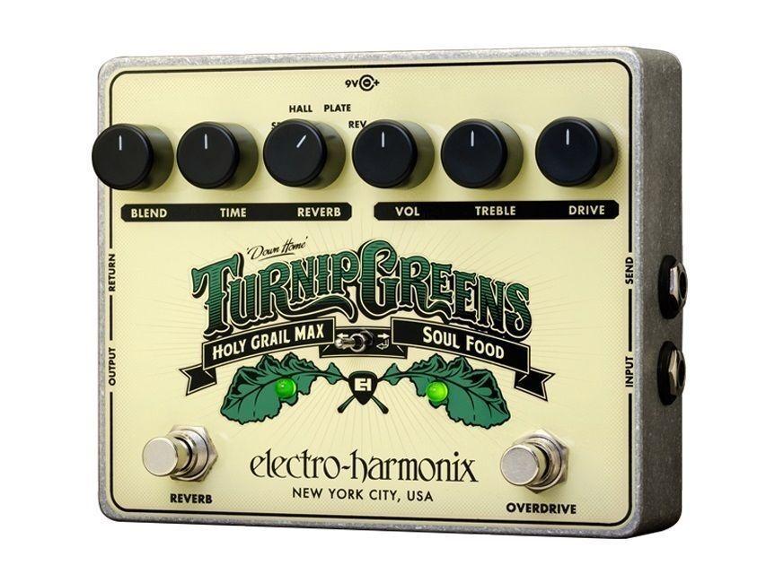 Electro-Harmonix Turnip Grüns Multi-Effects Guitar Effect Pedal   New