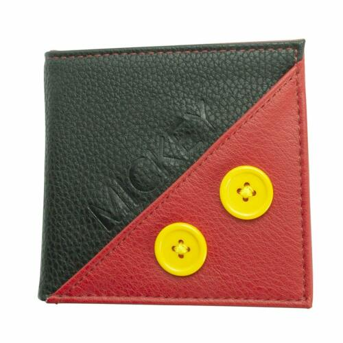 OFFICIAL DISNEY MICKEY MOUSE Premium Bifold Wallet purse Nuovo con etichette