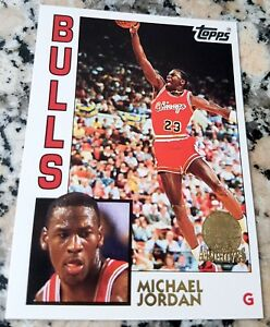 MICHAEL-JORDAN-1992-Topps-Archives-RARE-GLOSSY-GOLD-SP-Rookie-Card-RC-1984-Bulls