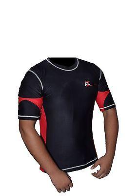 AZ New Skin Compression Training Fitness MMA Half Sleeves Rash Guard BG-1550