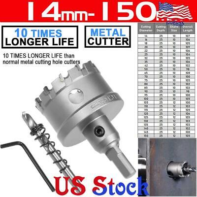 TCT HSS Steel Hole Saw Dia 25mm Stainless Steel Cutting Hole Saw Cutter