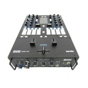 Rane-Seventy-Due-2-Channel-USB-Graffio-Mixer-Integrato-Effetti-Garanzia