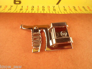 Brother Singer Babylock Snap on Foot  #7302 Sliding BUTTON HOLE  Foot,Janome