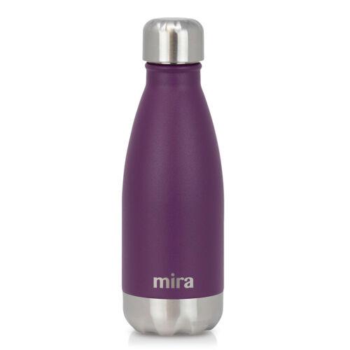 environ 340.19 g Mira cascade en acier inoxydable isolation sous vide bouteille d/'eau 12 oz Iris