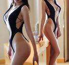 Fishnet Babydoll Sexy Bodysuit Lingerie Underwear Temptation BODYSTOCKING bikini