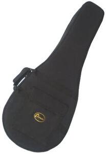 B-STOCK 5 String G Banjo Hard case Padded lined Foam pod in Black by Clearwater