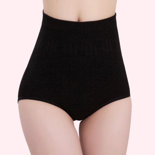 Damen Body Shaper Passgebend Schlankmachend Unterwäsche Hohe Taille Schlüpfer