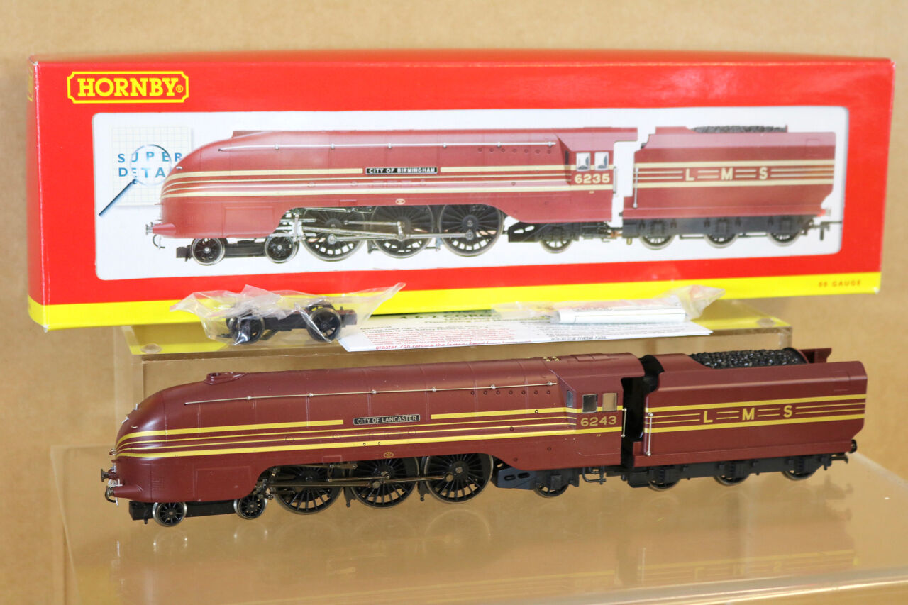 HORNBY TMC236 R2205 LMS 4-6-2 CoroNATION CLASS LOCO 6243 CITY of LANCASTER ng