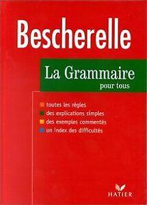 Bescherelle-Grammaire-edition-97-Livre-etat-bon