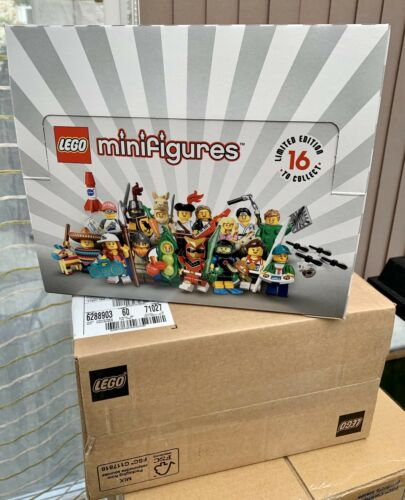 Lego Minifigures Series 20 71027 Display Box And Lego Shipping Box