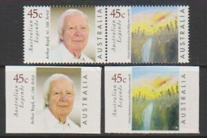 Australia-1999-Legends-3rd-series-amp-Adhesive-Values-MNH-SG-1838-9