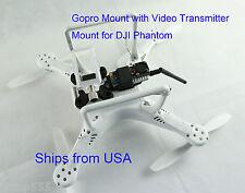 GoPro Anti Vibration Mount with Video Transmitter Mount for DJI Phantom 1 2 3