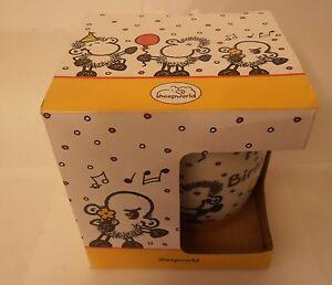 Cute-Sheep-celebrating-Happy-Birthday-ceramic-mug-new-in-gift-box-Sheepworld
