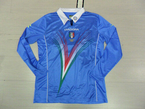 10014 SIZE S TSHIRT REFEREE CENTENARY HAGUE REFREE JERSEY SHIRT BLUE