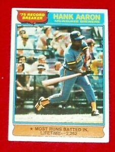 1976-Topps-Baseball-HANK-AARON-Record-breaking-card-1