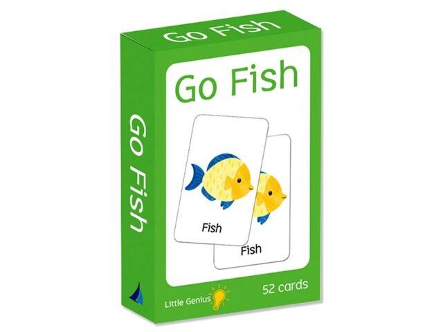Card Game Go Fish Little Genius (LAK451592)