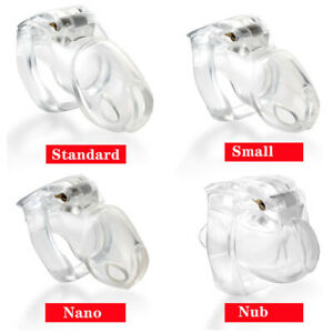 USA SHIP New 2021! V4 Resin Male Chastity Chasity Cage-3 Colors 4 Sizes