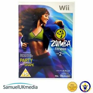 Zumba 2 Fitness Wii  Game Only Wii GREAT CONDITION - Yorkshire, United Kingdom - Zumba 2 Fitness Wii  Game Only Wii GREAT CONDITION - Yorkshire, United Kingdom