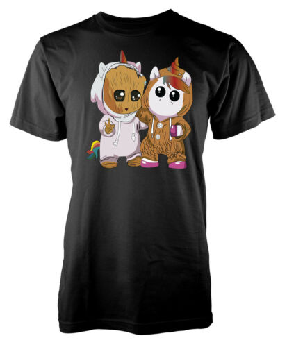 Groot Unicorn Kids T Shirt