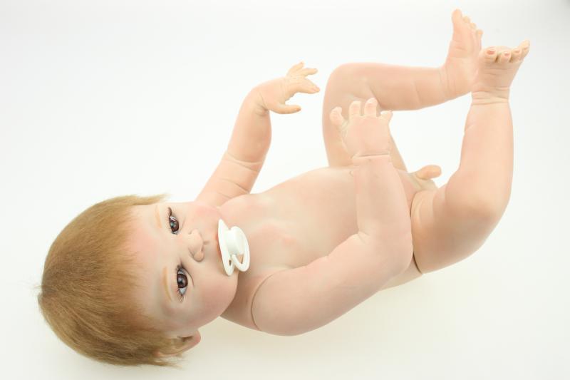 22  CORPO PIENO in silicone RINATO BABY BOY VINILE realistica bagno nudi regali Lavabile