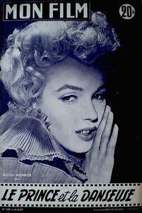 Marilyn-Monroe-Magazine-1957-Mon-Film-France-International-Laurence-Olivier-Rare