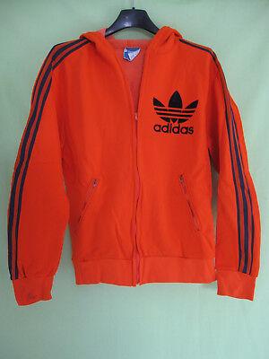 Veste Adidas Ventex Trefoil 70'S Pop Orange Vintage Jacket 168 S | eBay