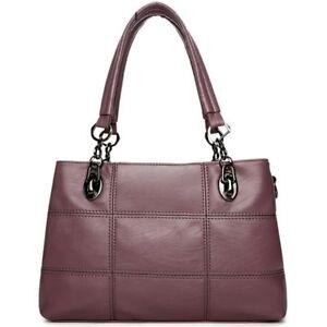 Image is loading Women-Luxury-Leather-Bags-Shoulder-Messenger-Bags-Satchel- e9fd1d4781543