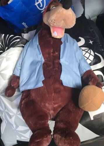 Disney Parks Splash Mountain Br'er Bear Large Plush Brer Bear New In Hand
