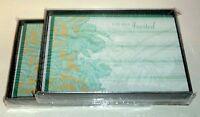 20 Invitations & 20 Envelopes - Theme: Scrolling Irises By Pepper Pot