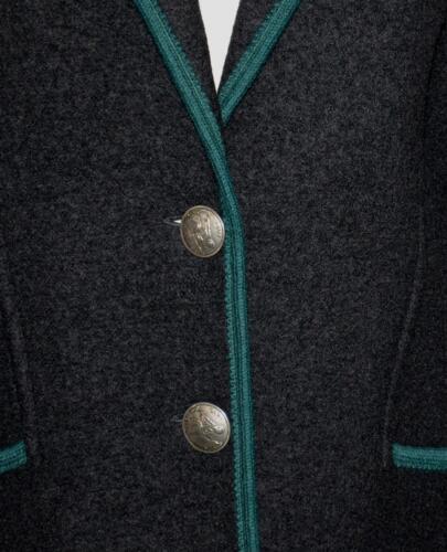 Jakke Sort Varm Sweater Kogt 40 Tykk Vinter Eu 10 Kvinder 741587286486 Uld Østrig M og UwqgtEq