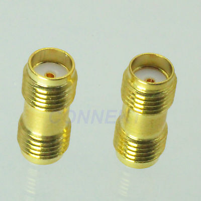1pce SMA female to SMA female jack in series RF coaxial adapter connector