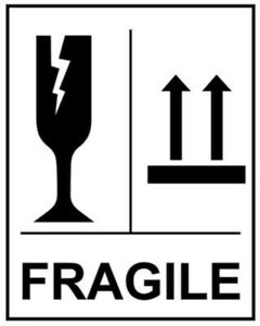 FRAGILE-SELF-ADHESIVE-LABELS-4-034-X6-034