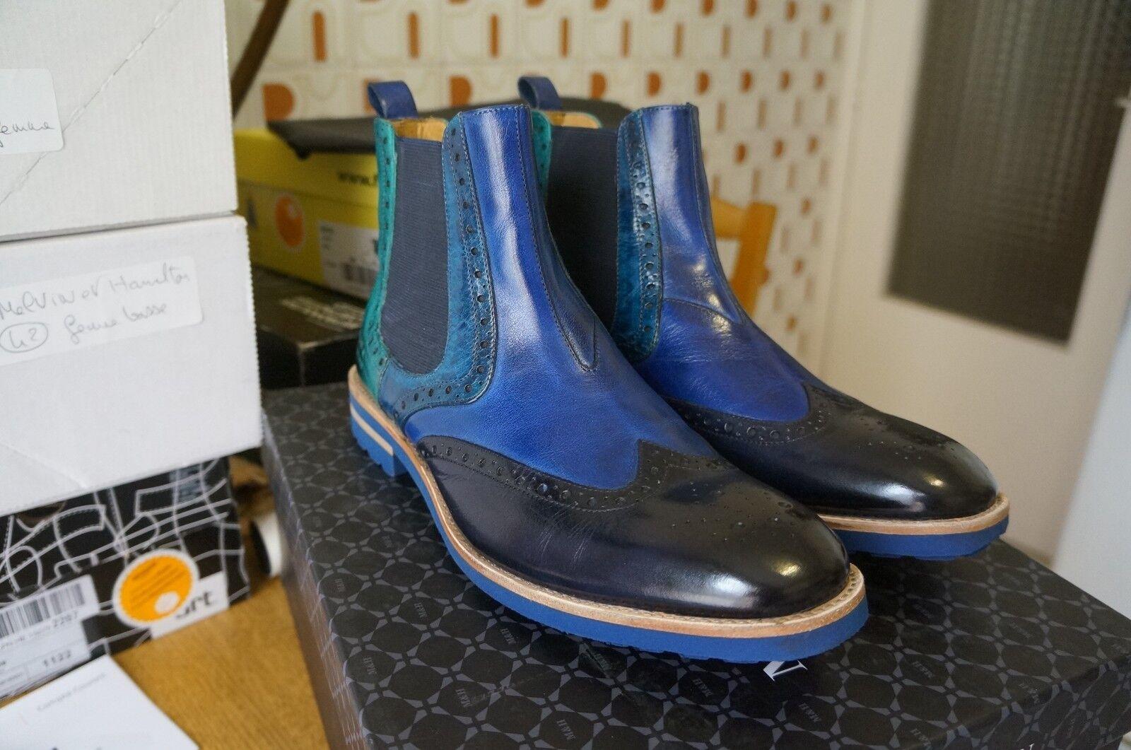 Melvin & HamiltonEddy 13 13 13 - botas Chelsea hombres, azul 41 EU 120b11