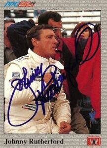 Johnny-Rutherford-1991-All-World-Indy-Signed-Card-Auto