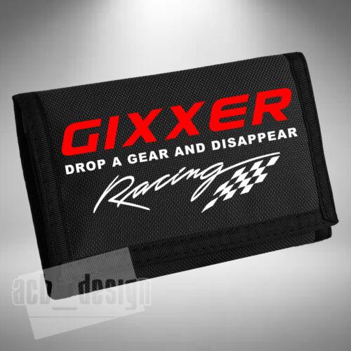 Purse Superbike Motorbike Bikes Road Bike Biker Race GIXXER Drop A Gear Wallet