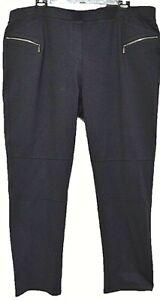 TS-pants-TAKING-SHAPE-plus-sz-XL-24-Coco-Zip-Leggings-stretch-ponti-comfy-NWT