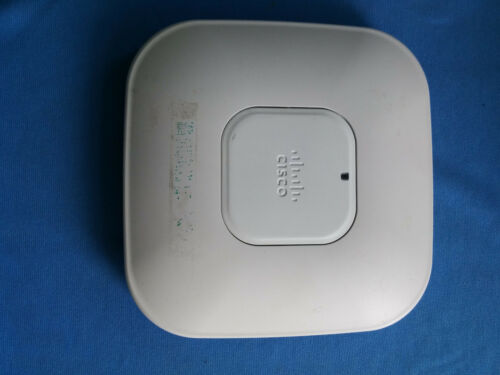 1 of 1 - CISCO AIR CAP3502I-N-K9 V02 802.11N DUAL BAND WIRELESS ACCESS POINT TESTED