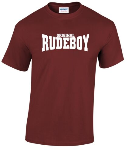 SKA TWO-TONE RUDE BOY T-SHIRT REGGAE ORIGINAL RUDEBOY 2-Tone T-Shirt Many Colour