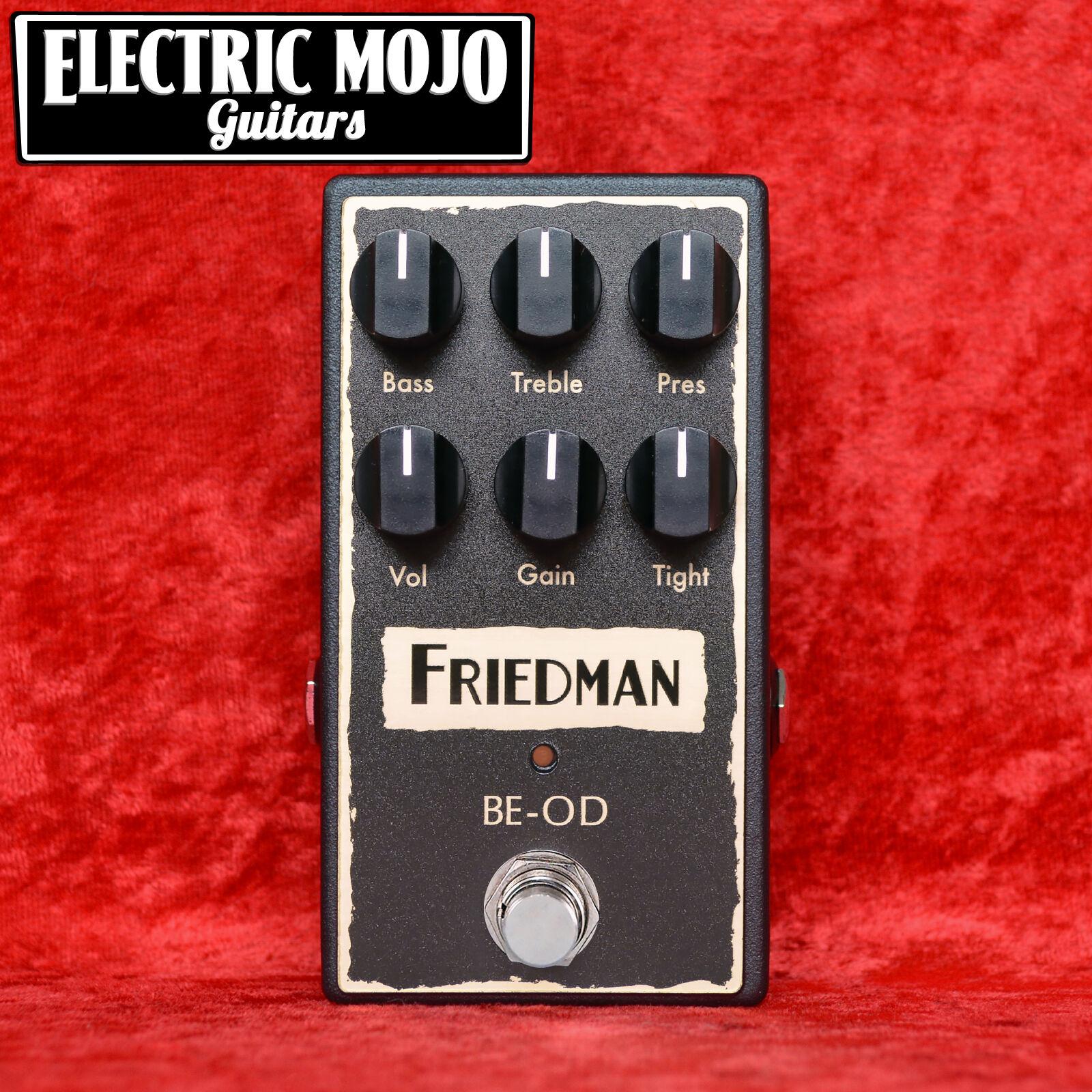 friedman be od overdrive distortion pedal ebay. Black Bedroom Furniture Sets. Home Design Ideas